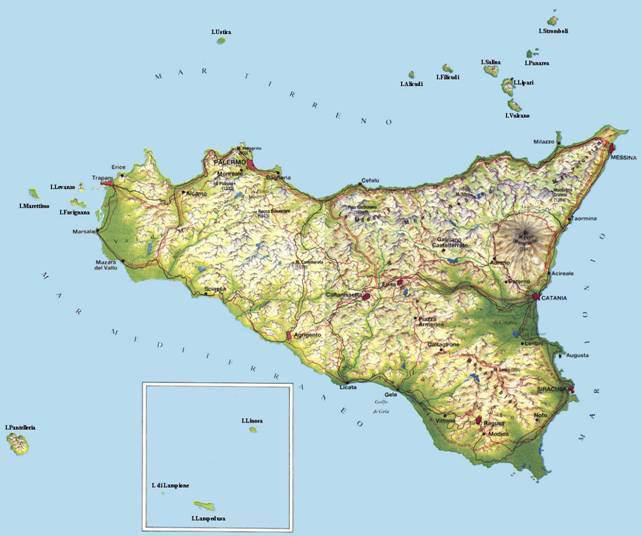 Cartina Sicilia Tindari.Notarte Paesaggi Sicilia